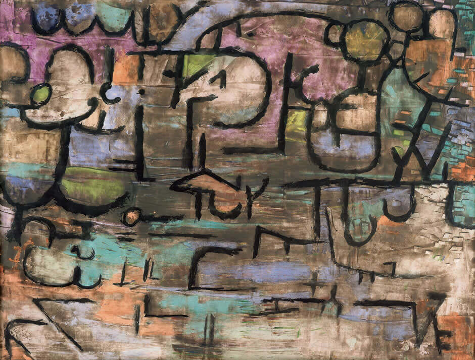 After The Floods, 1936, by Paul Klee