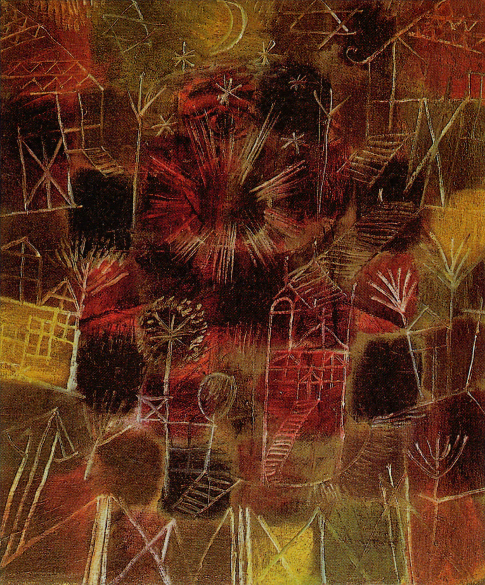 Cosmic Composition, 1919, by Paul Klee