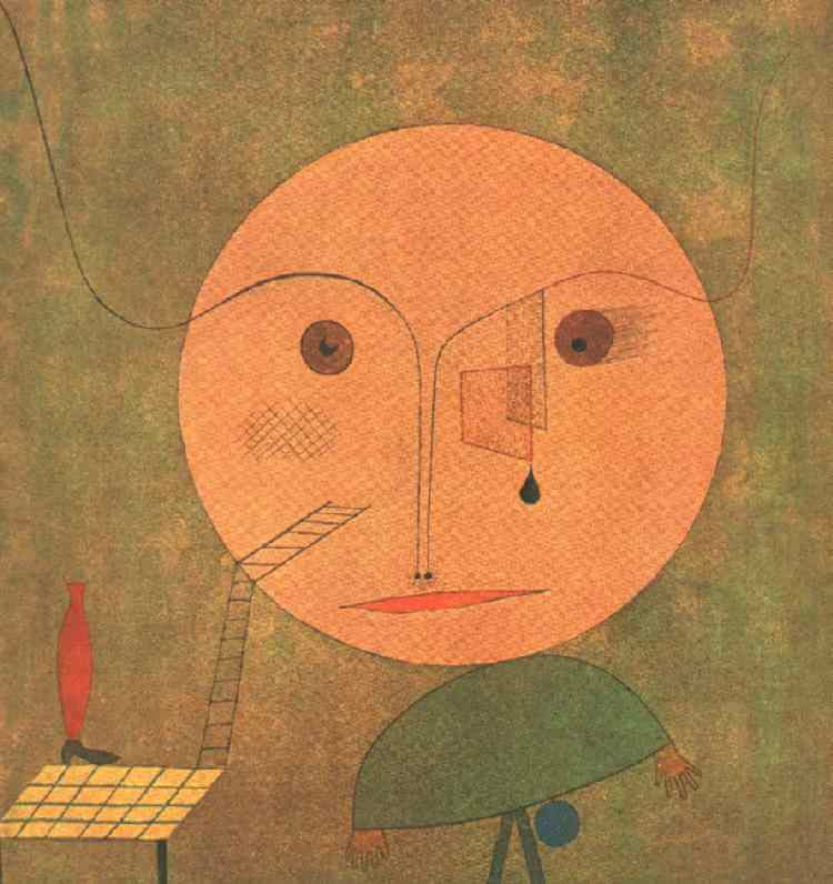 Error on Green, 1930 by Paul Klee