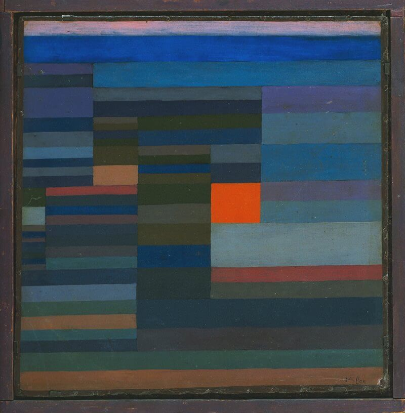 Fire in the Evening, 1929 by Paul Klee
