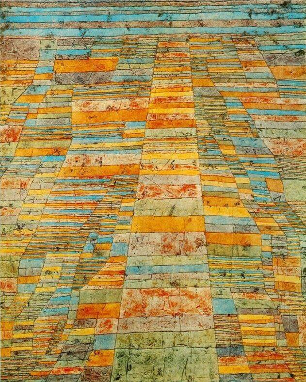 Highway and Byways, 1929 by Paul Klee