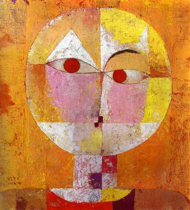 Senecio, 1922 by Paul Klee