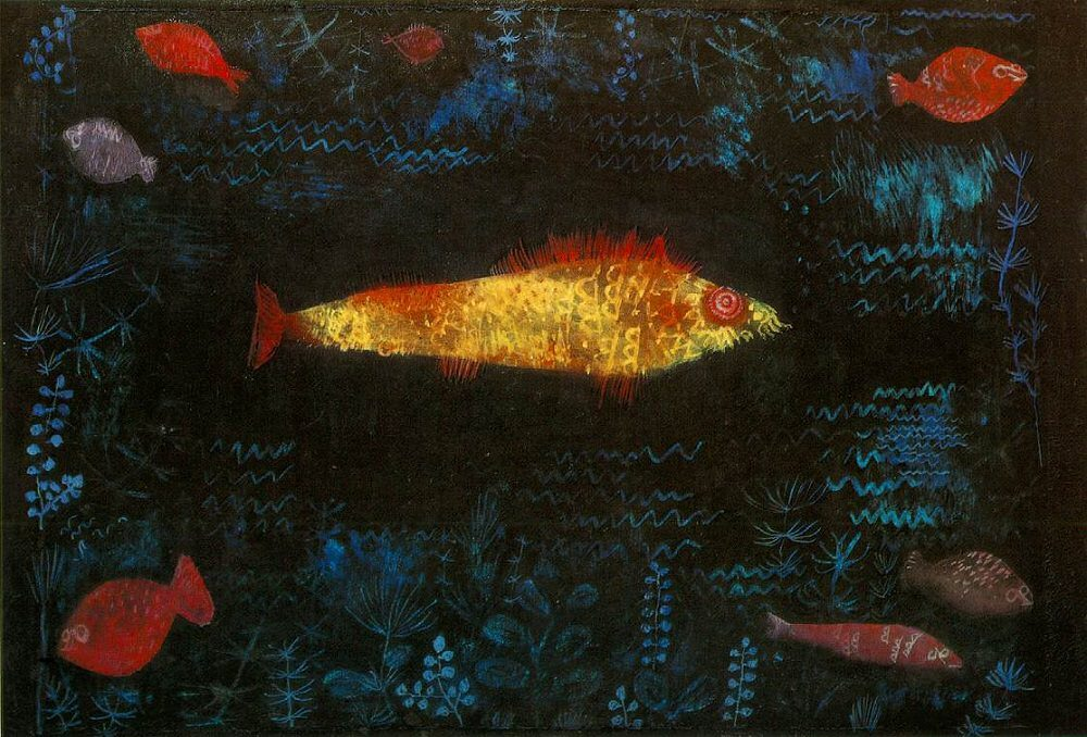The Goldfish, 1925 by Paul Klee